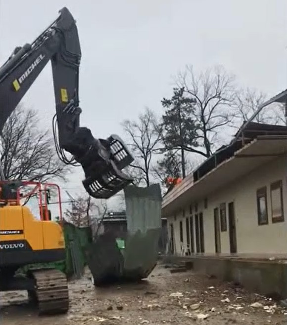 Le chantier commence